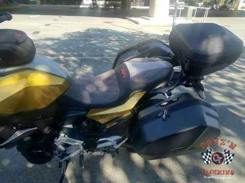 2020 BMW F900 xr custom motorcycle seat 5