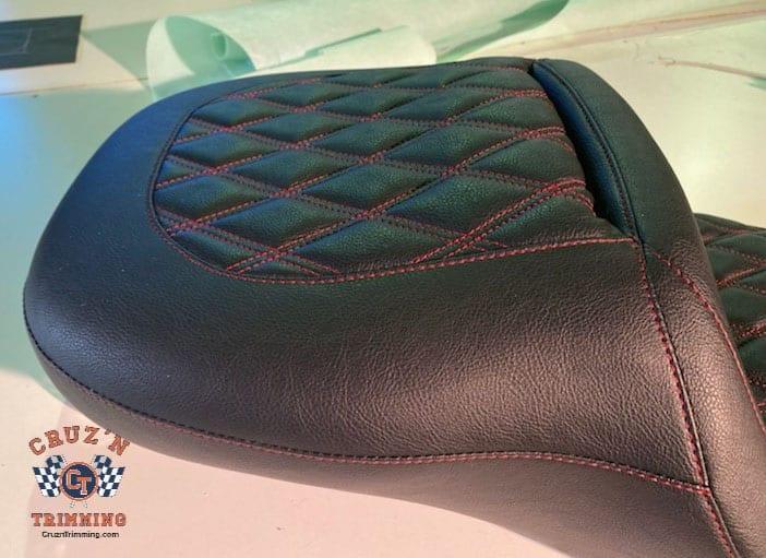 Harley Davidson CVO Street Glide Custom Motorcycle Seats 5