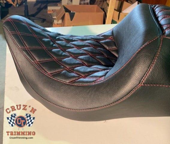 Harley Davidson CVO Street Glide Custom Motorcycle Seats 6