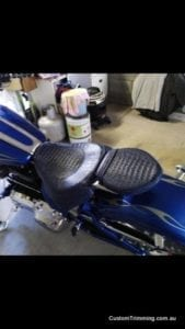 Harley Davidson Rocker C Custom Motorcycle Seat 1