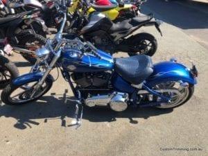 Harley Davidson Rocker C Custom Motorcycle Seat 3