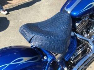 Harley Davidson Rocker C Custom Motorcycle Seat 8