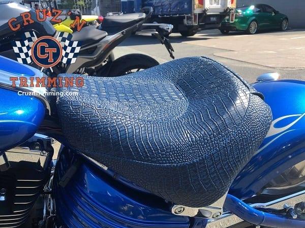 Harley Davidson Rocker C Custom Motorcycle Seat Cruzn Trimming 1 2